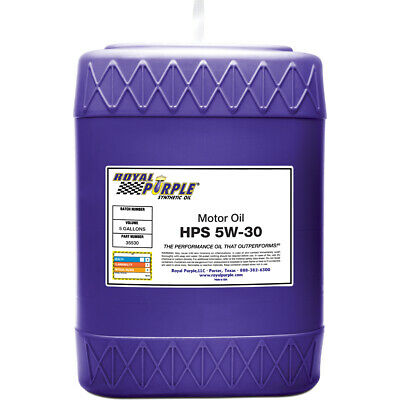 Royal Purple LTD 35530 HPS Multi-Grade Synthetic Motor Oil 5W30 5 Gal. Pail