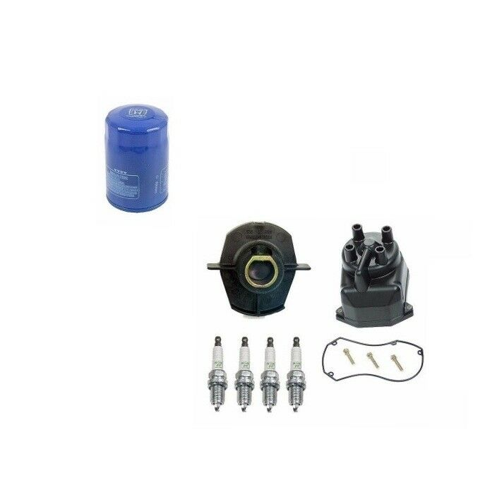 Tune Up Kit Distributor Cap Rotor Spark Plug And Filter For 9802 Rhebay: Fuel Filter Distributor Cap Rotor At Gmaili.net