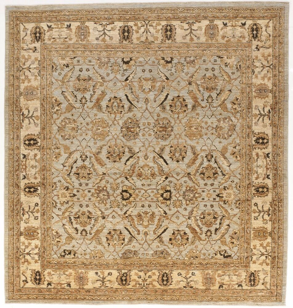 "Hand Knotted Pakistan Rug. 6'11""x 6' 6"""
