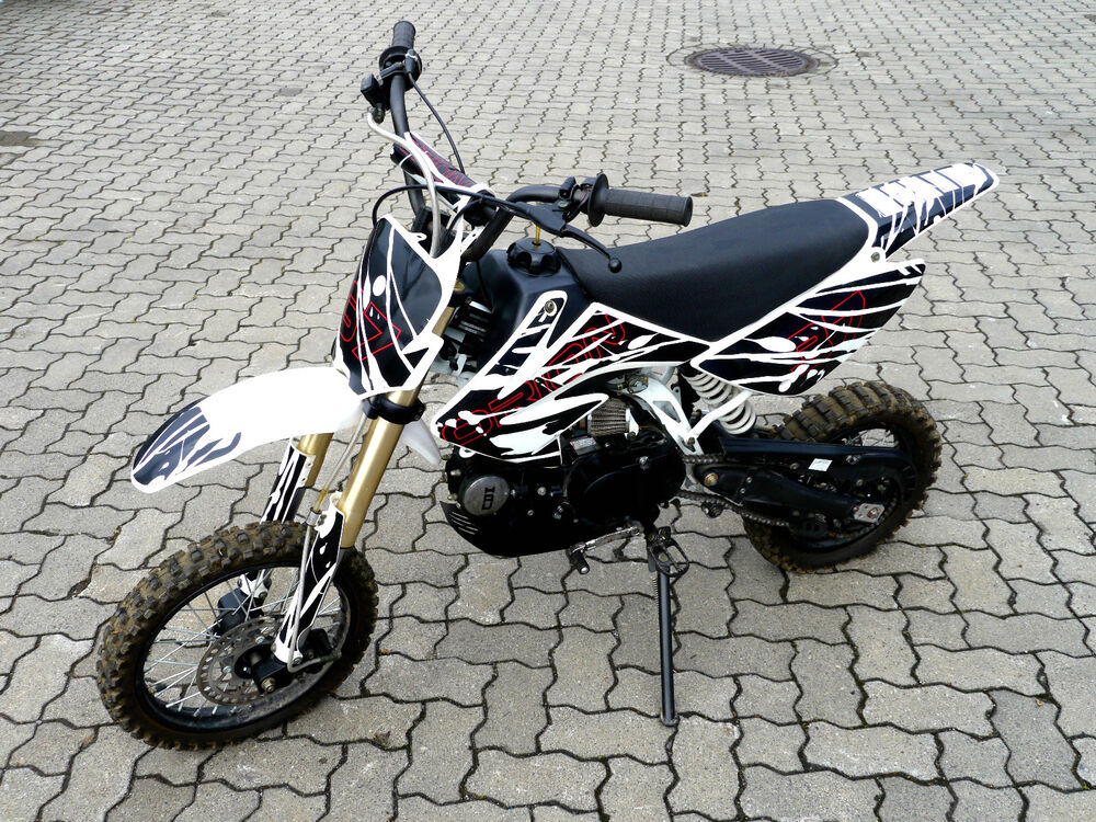 orion motorrad dirtbike motocross cross bike 125 ccm ebay. Black Bedroom Furniture Sets. Home Design Ideas