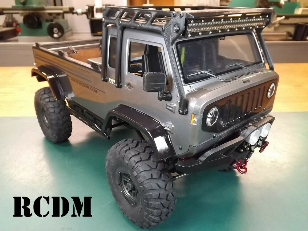 Rcdm Roll Cage Roof Rack For The Axial Jeep Quot Mighty Quot Fc