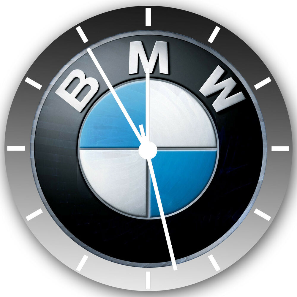 Bmw Frameless Borderless Wall Clock Nice For Gifts Or