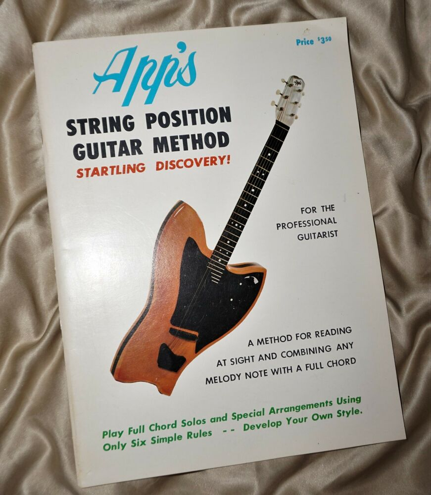 Guitar Lesson Book String Position Chord Method By Ow Appleton Apps