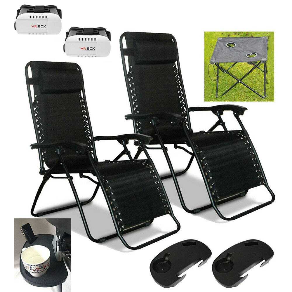 Zero Gravity Textoline Recliner Chair Garden Sun Lounger