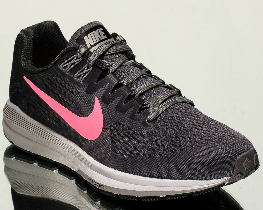64b471950e02 Details about Nike Wmns Air Zoom Structure 21 women running sneakers NEW  gunsmoke 904701-004