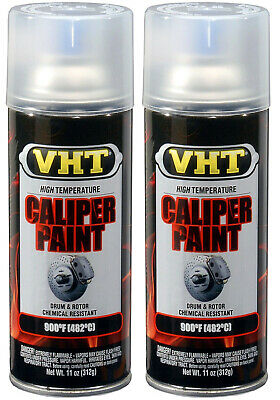 2 PACK VHT SP730 GLOSS CLEAR BRAKE CALIPER Drum Paint Epoxy High Temp  900°F