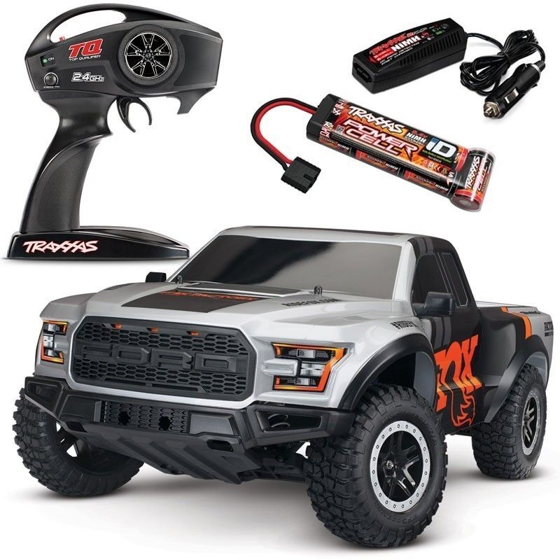 new traxxas 2017 ford raptor slash xl 5 2wd rtr with fox. Black Bedroom Furniture Sets. Home Design Ideas