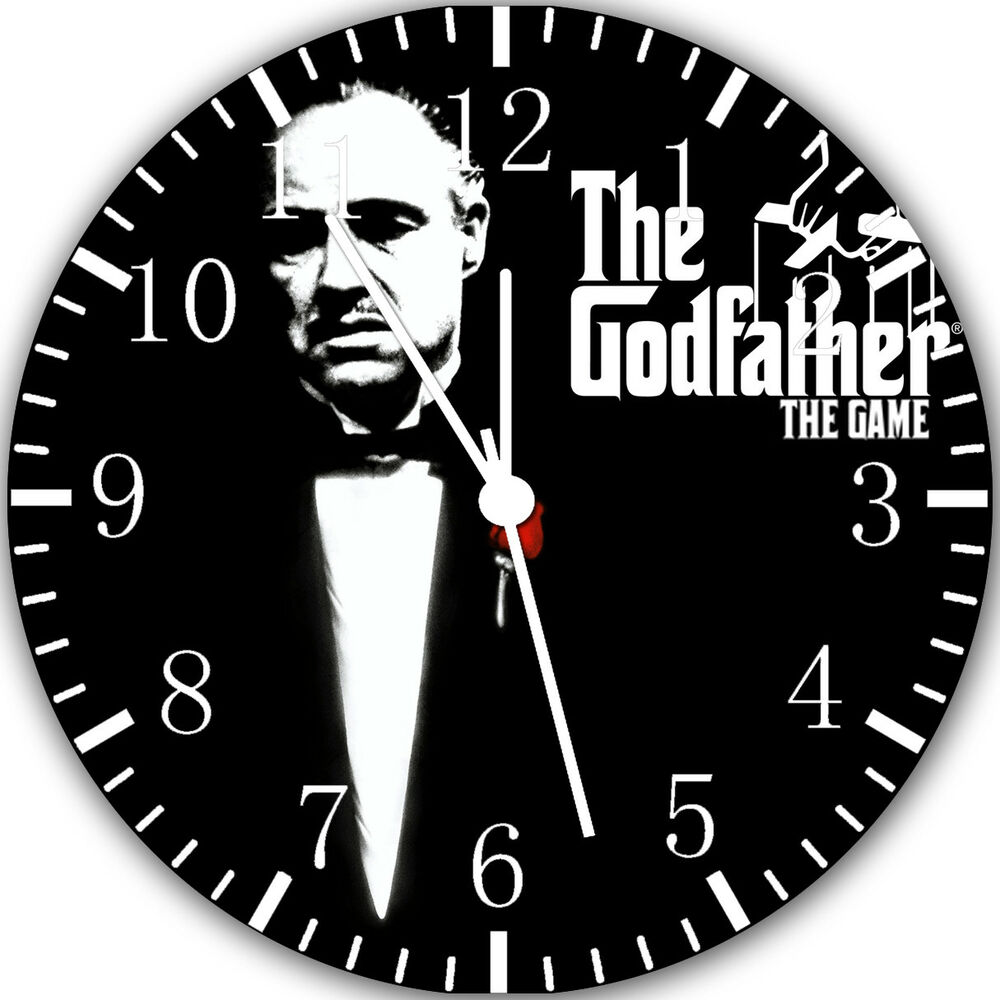 The Godfather Frameless Borderless Wall Clock Nice For