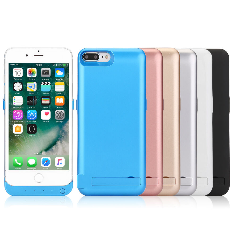 10000mah power bank akku batterie case h lle f r iphone 6 6s 7 8 plus ebay. Black Bedroom Furniture Sets. Home Design Ideas