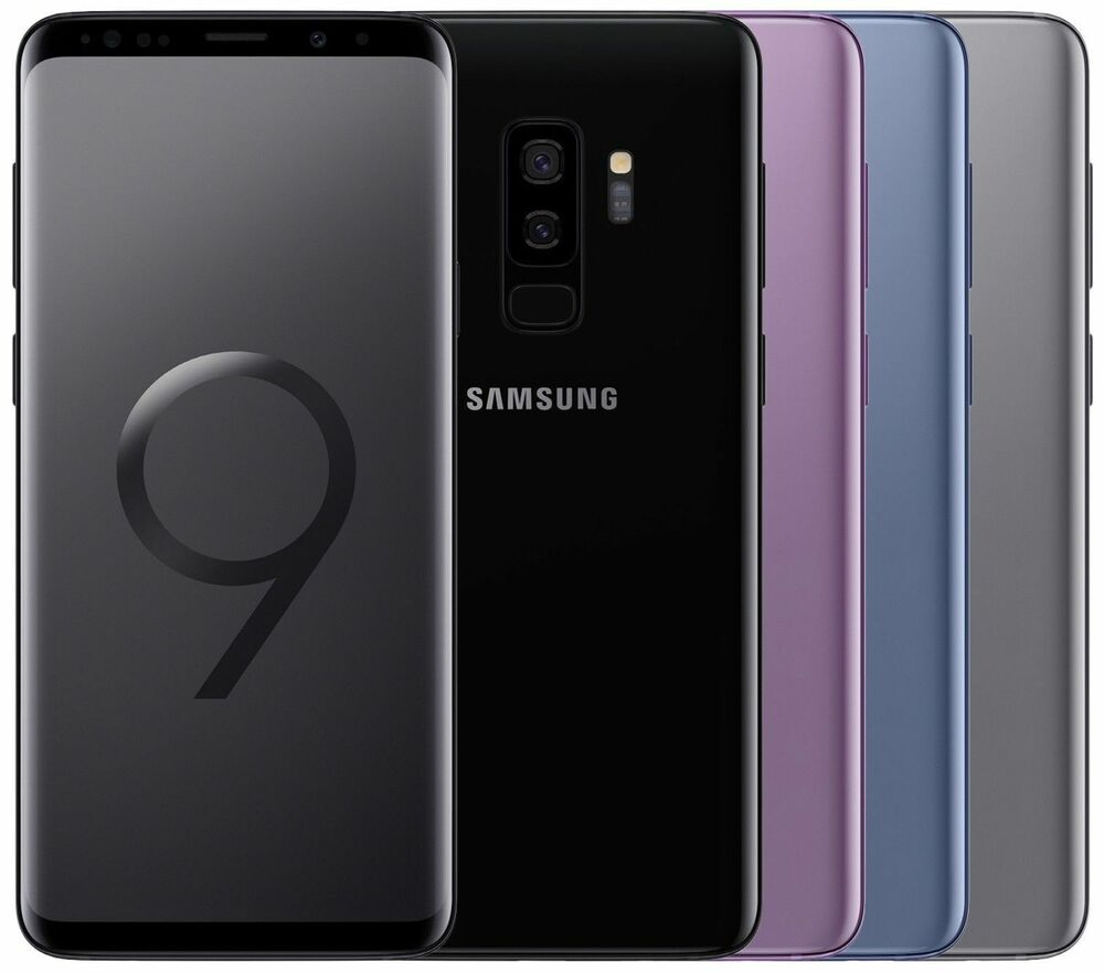 Dual sim samsung galaxy s9 plus