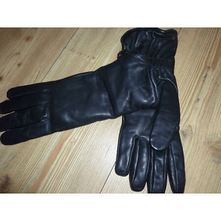 img-COMBAT MK11 BLACK LEATHER WATER RESISTANT GLOVES BRITISH ARMY VARIOUS SIZES