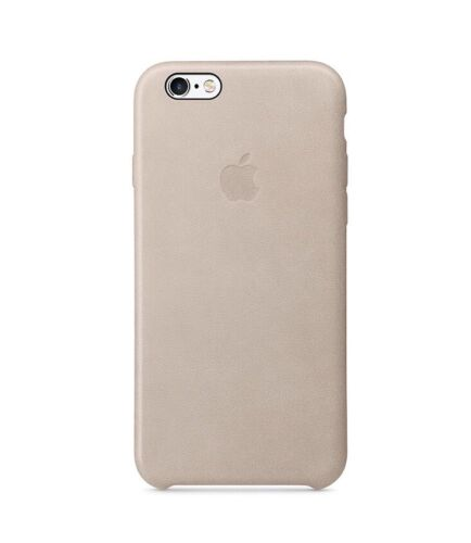 Apple MKXE2ZM/A Rose Gray iPhone 6s Plus Leather Case