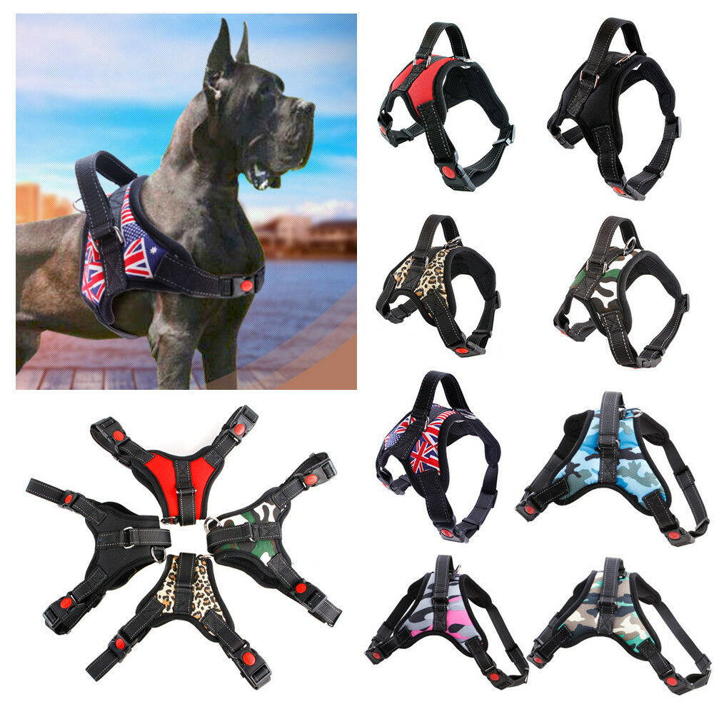 Xlarge Pink Camo Dog Puppy Harness Doberman German Sheperd Sale