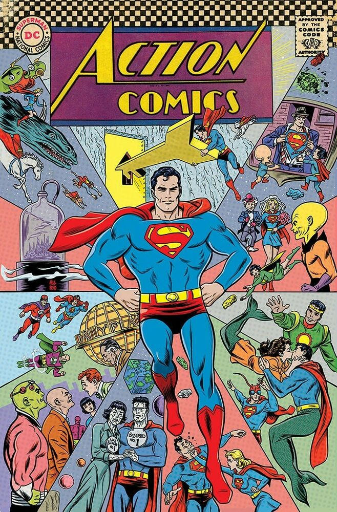Action Comics 1000 cover ~ Mike Allred