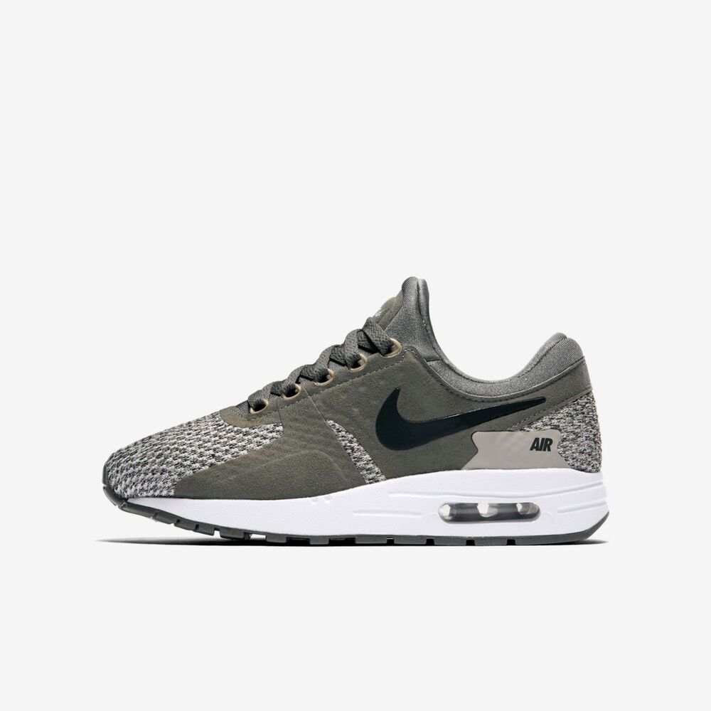 low priced d2c40 a23a0 Nike Air Max Zero Essentiel garçon fille baskets chaussures Course river  rock   eBay