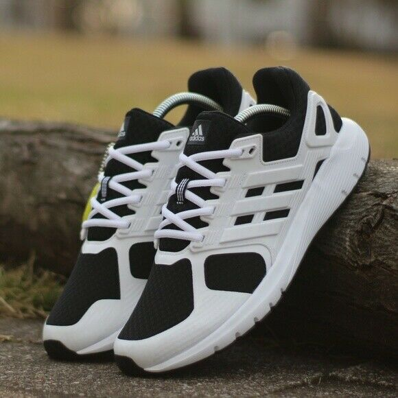 sports shoes 32b17 470e6 Details about Adidas Men Duramo 8 Training Shoes Running White Black  Sneakers GYM Shoes BA8085