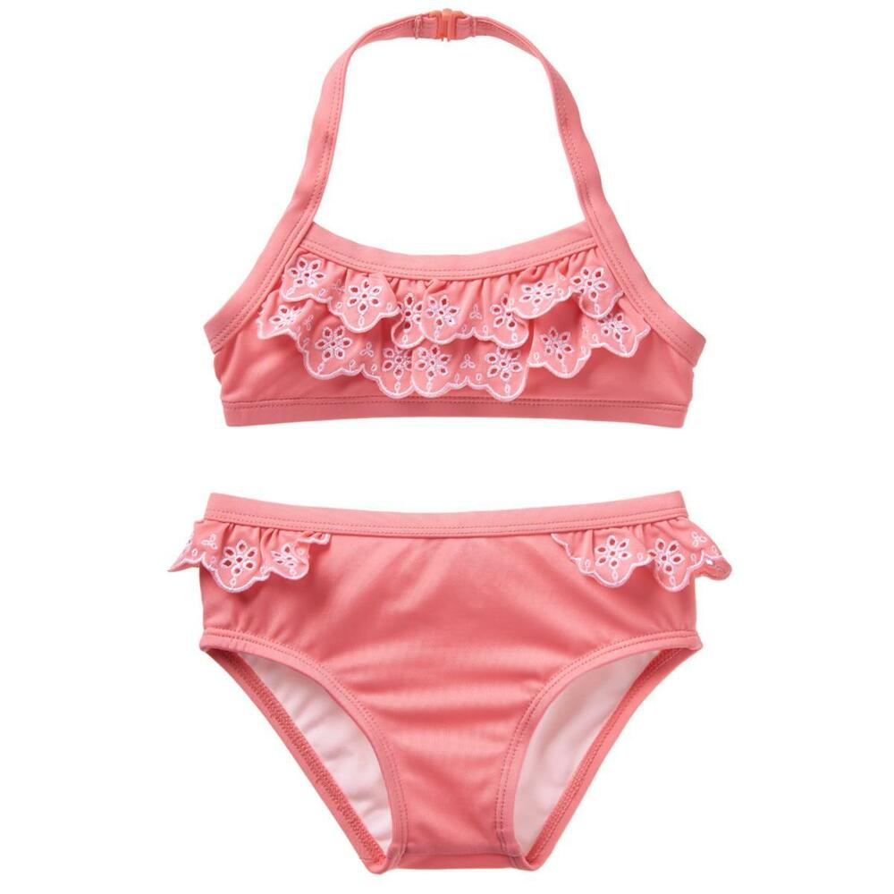 Girls' Clothing (newborn-5t) Nwt Girls Heart Bow Pink Gymboree Swimsuit Summer 12-18 M Clothing, Shoes & Accessories