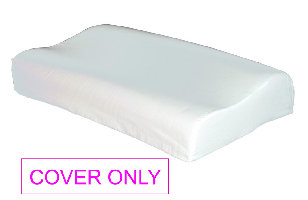 Cover Only For Standard Queen Size Contour Pillow 100