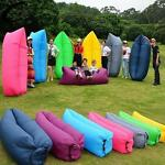 Sofa Bed-Lazy Waterproof Lounger Chair Fast Inflatable Camping Air Sleeping Bag
