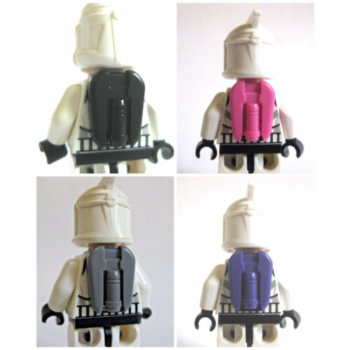 Custom Clone COMMANDER JETPACK for Minifigures -Star Wars -Pick your Color!