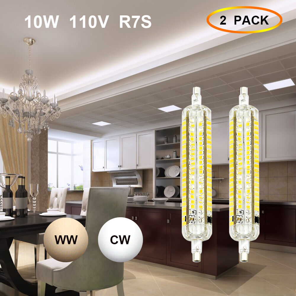 10w R7s Led 118mm Dimmable Light Bulb 10 5 2 5w R7s J118