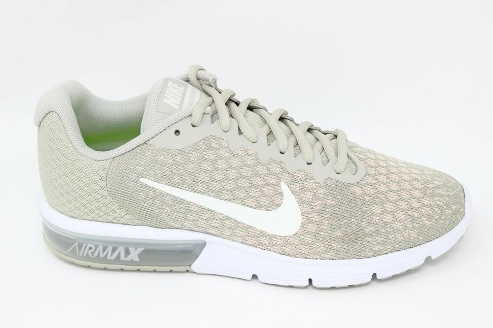 dd5ca1c52 Details about Nike Women's Air Max Sequent 2 852465 011 Pale Gray/Sail/Light  Bone Brand New