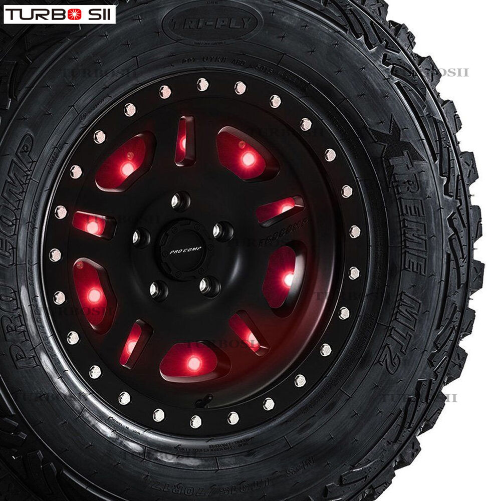 Round Spare Tire Light 3rd Brake Rear Tail Light For Jeep