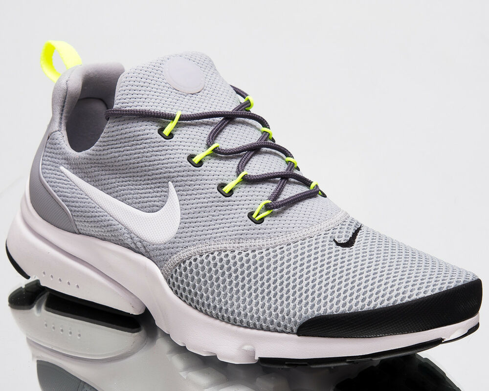 e1f0fbfb24a5 Details about Nike Presto Fly Men Air New Shoes Wolf Grey White Black Mens  Sneakers 908019-013