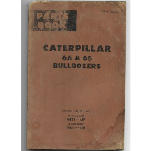 original-caterpillar-6a-and-6s-bulldozers-parts-book-catalog-manual-ue35826