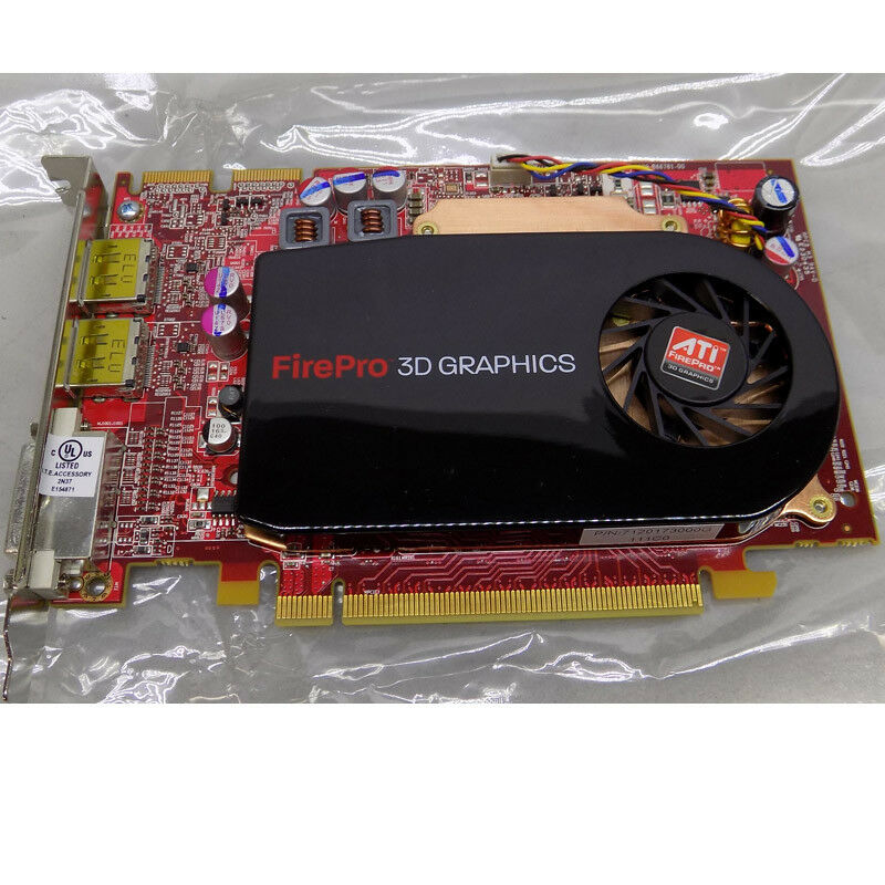 ATI FirePro V3750 256MB Dual Video 3D Graphic Card PCIe ... - photo#5