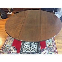 Antique George III Mahogany Dropleaf Dining Table --c.1775-- Shipping Available
