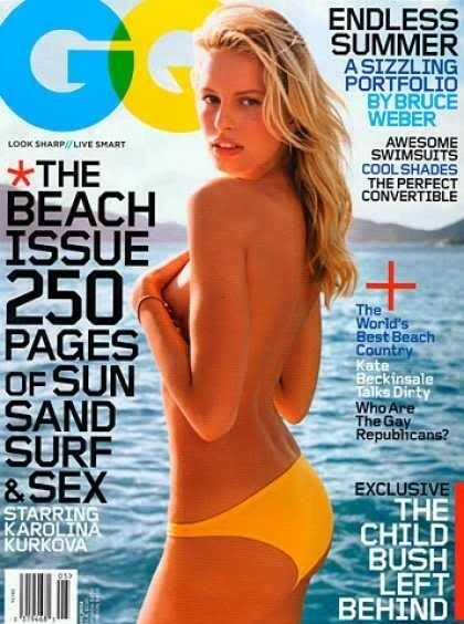 Have passed karolina kurkova gq men of the year think, that