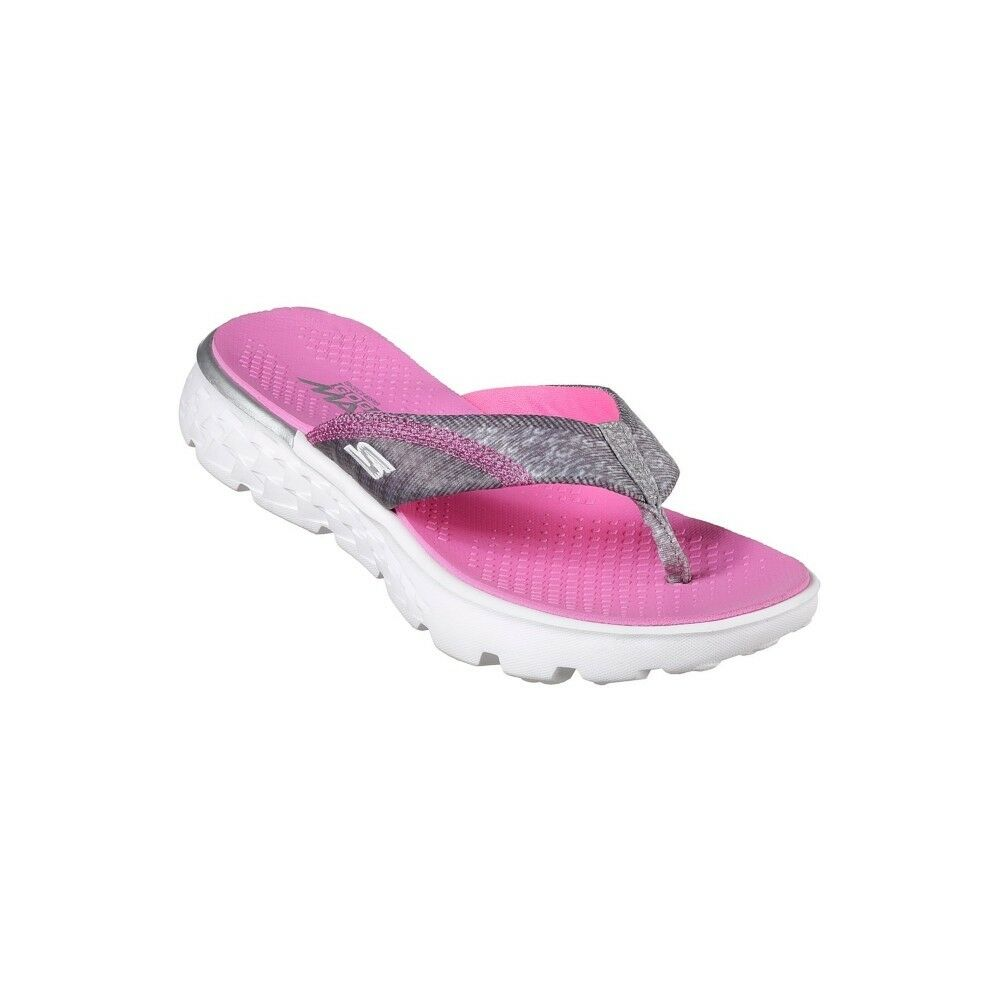 c33b299ae04a Details about Skechers Girl s On The Go 400-Lil Pizazz Gray Pink  86747L GYPK With Goga Max