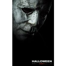 (1) HALLOWEEN (2018) Horror New Movie Reproduction Poster, Michael Myers Slasher