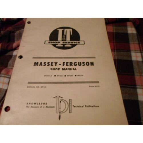mf35-it-shop-manual-for-massey-ferguson-tractors-models-mf255-mf265-and-mf275