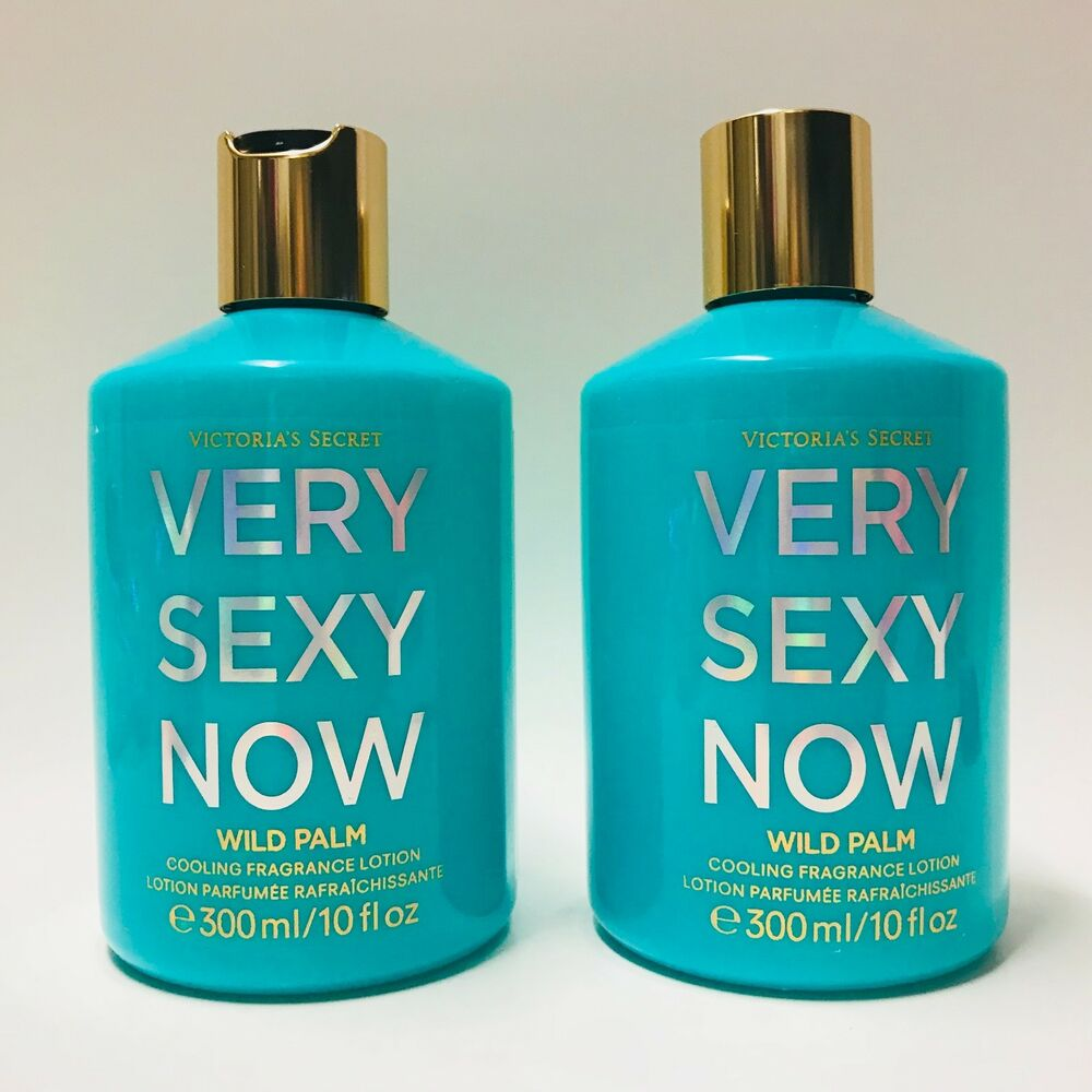 0d2baa59b27 Details about 2 Victoria s Secret Very Sexy Now Wild Palm Cooling Fragrance  Body Lotion 10 oz