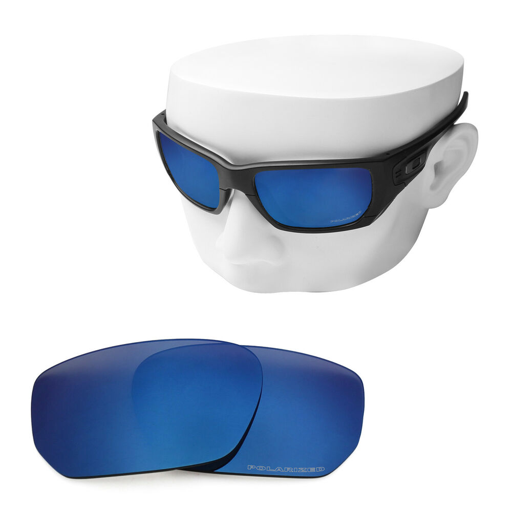 1fa7a8077d Details about OOWLIT Replacement Sunglass Lenses for-Oakley Style Switch  POLARIZED - Sapphire