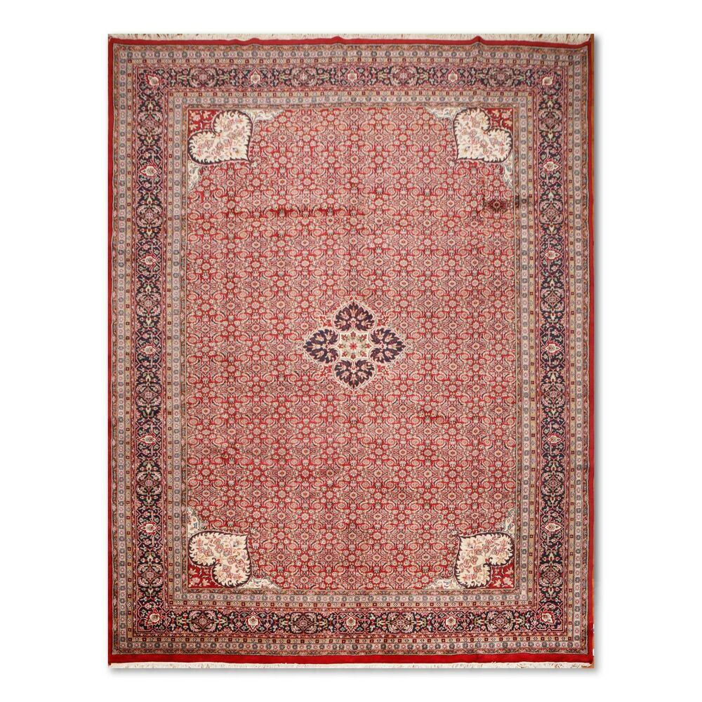 """100 Wool Persian Area Rug: 10'4"""" X 14'"""" Hand Knotted Romanian Farahan 100% Wool"""