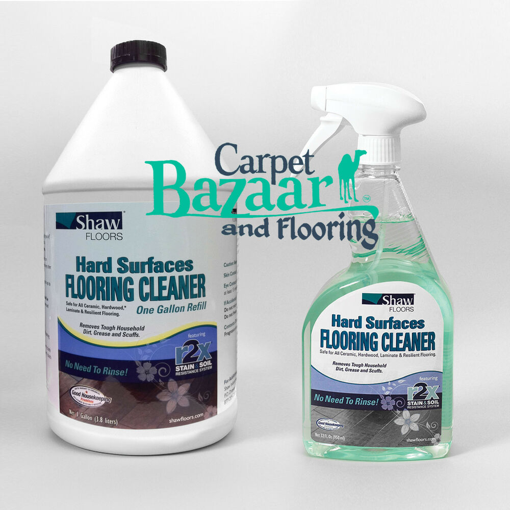 Details About Gallon Of Shaw R2x Hard Surface Floor Cleaner Refill And 32oz Spray