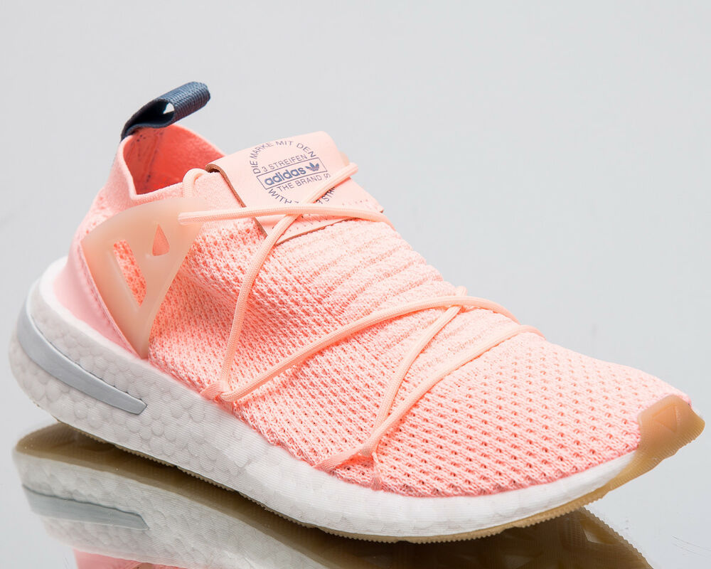 low priced 69843 6ac3e Details about adidas Originals Wmns Arkyn Primeknit Women New Clear Orange  Sneakers B96508