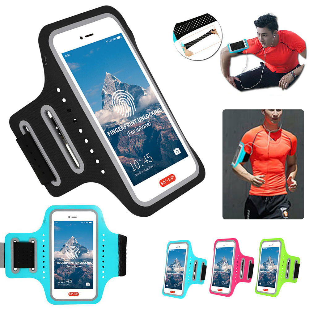 Friendly Universal Sport Armband Phone Bag Case For 4-6 Inch Smartphones Running Gym Arm Band Belt Pouch Cover For Iphone Samsung Xiaomi Mobile Phone Accessories