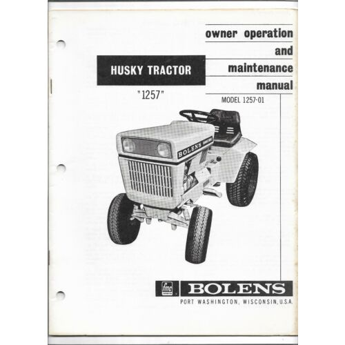 original-oe-bolens-husky-1257-125701-tractor-operators-owners-manual-552091