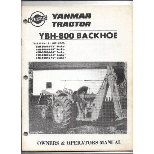 original-oem-oe-yanmar-model-ybh800-backhoe-operators-and-parts-manual-9914