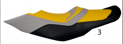 Premium Seat cover for Sea-Doo 2009-2015 RXT IS RXT-X RXT aS X YELLOW GRAY BLACK