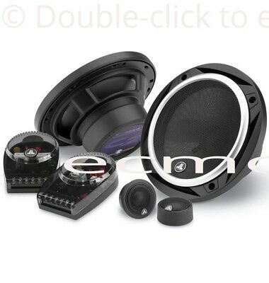 """NEW JL AUDIO C2-650 CAR STEREO COMPONENT SPEAKERS 6.5"""" 2 WAY 200 WATTS"""