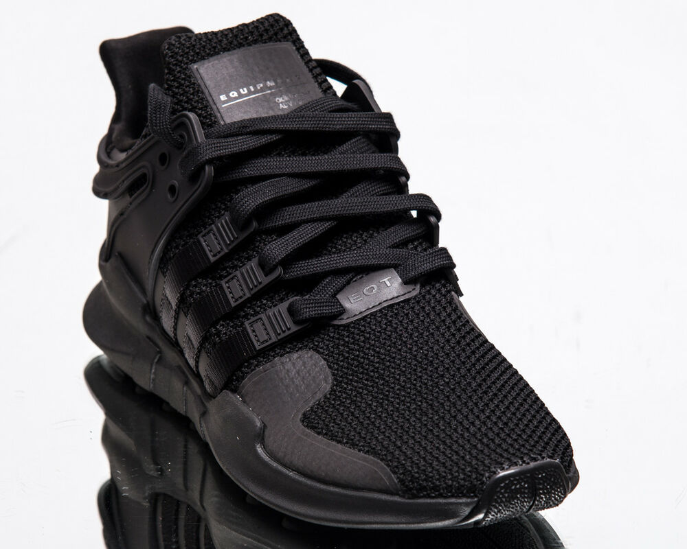 Details about adidas Originals EQT Support ADV Men New Black Lifestyle  Sneakers D96771 1b62e5e0348c0