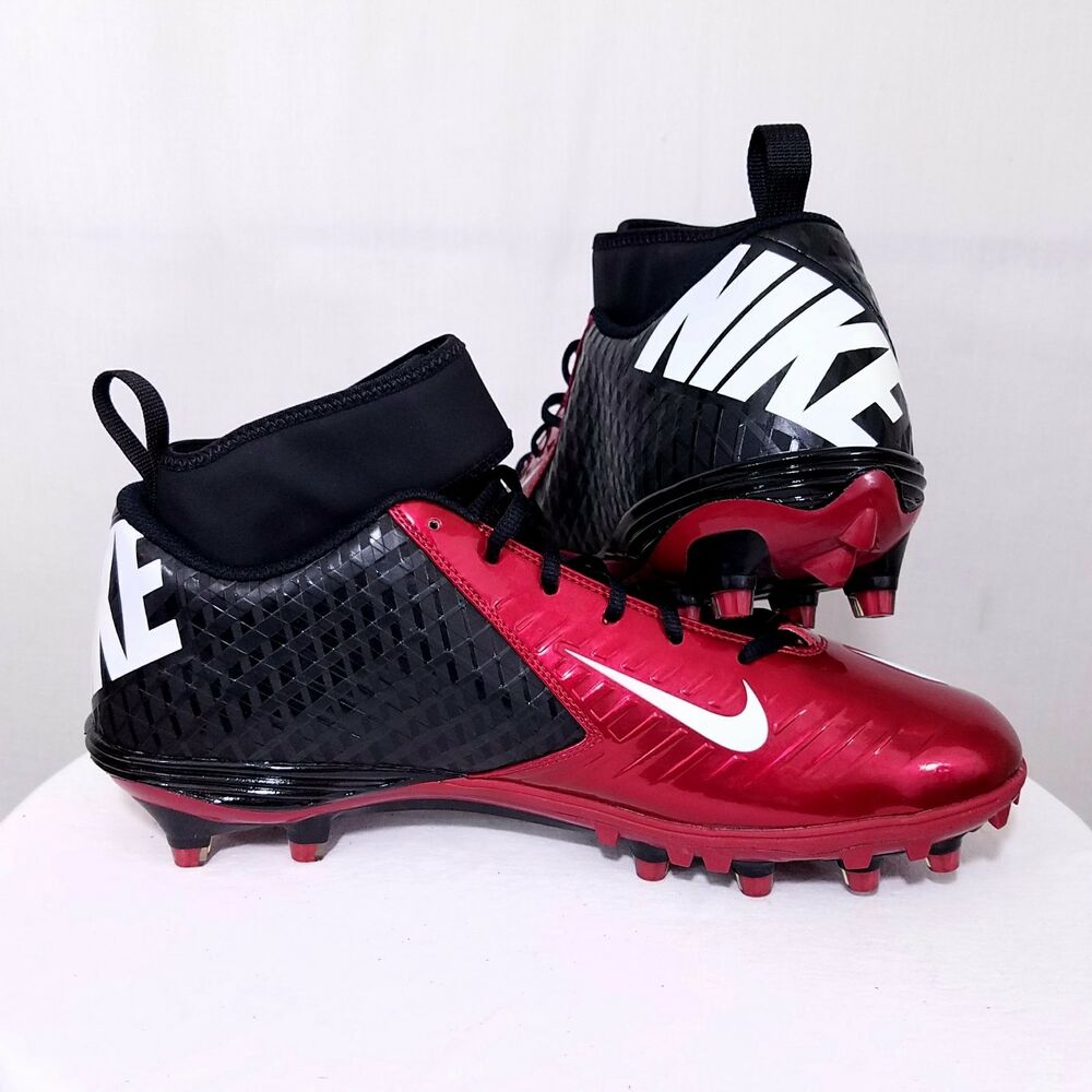 f4b620bc0755 Details about NIKE Lunar Superbad Pro TD Mens Football Cleats Red Black  534994 001 Size US 13