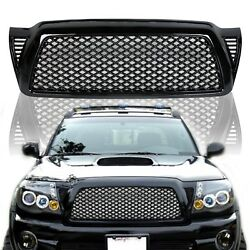 Kyпить For 05-11 Toyota Tacoma Honeycomb Mesh Black Front Bumper Hood Grill Grille на еВаy.соm