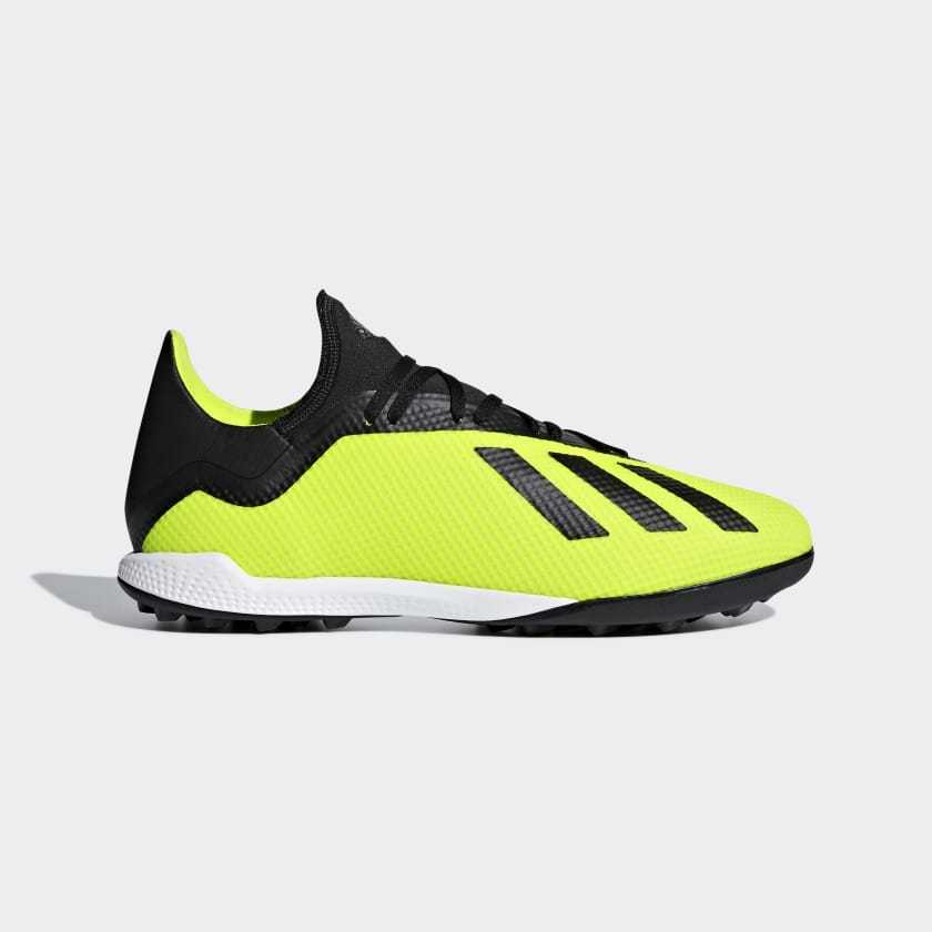 3bb059d54302ab Details about Adidas Men s X Tango 18.3 TF Soccer Shoes (Solar Yellow)  DB2475