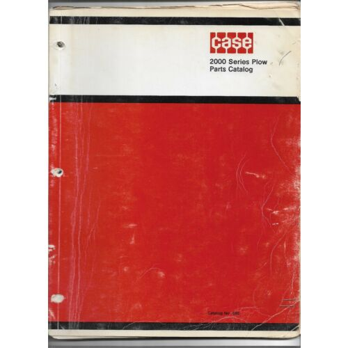 original-oem-oe-case-2000-series-plow-parts-catalog-number-890-issued-may-1970